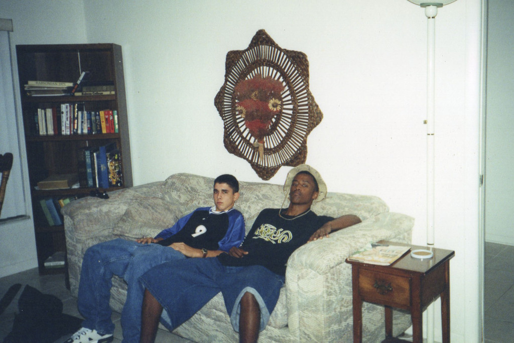 John Fernandez (left), me (right), circa 1997