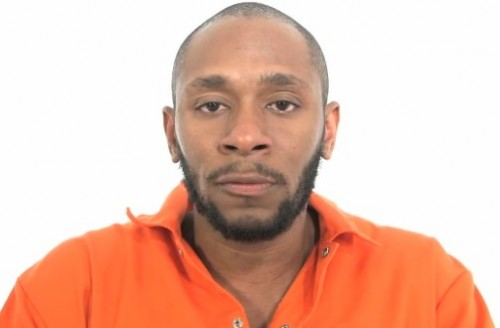 Yasiin Bey (aka Mos Def) after getting force-fed.