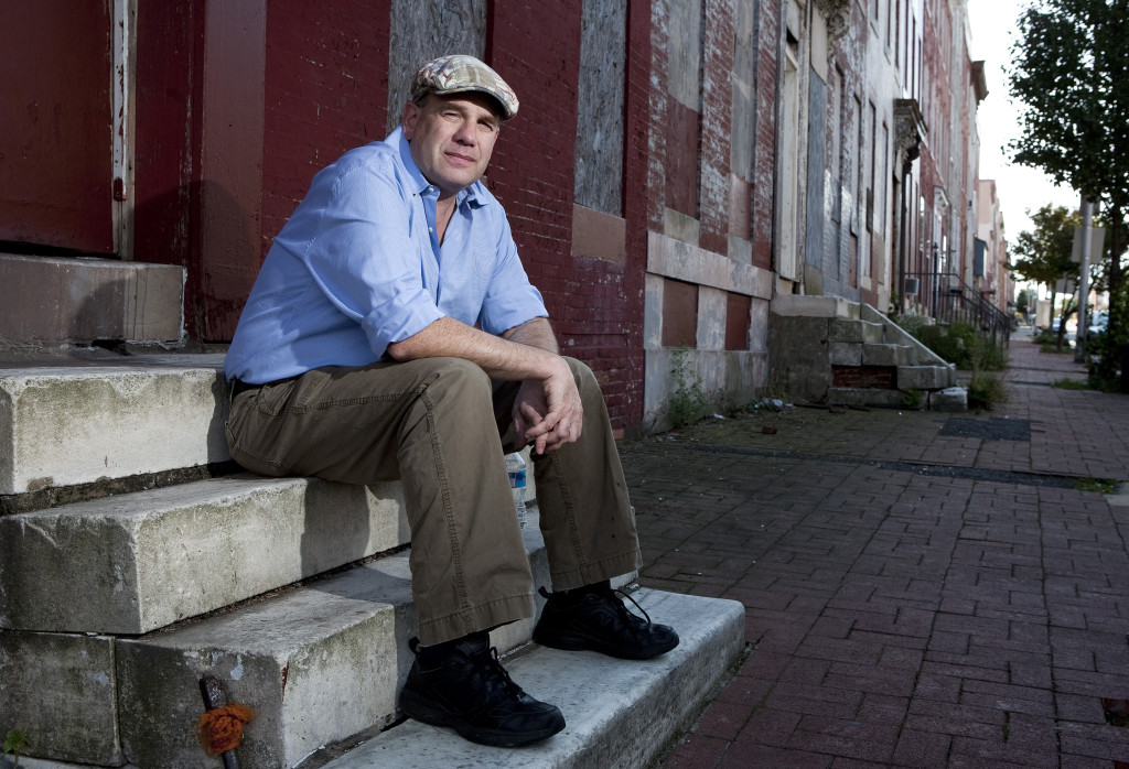 "BALTIMORE, MD - SEPTEMBER 19: David Simon, creator of the television show ""The Wire"", poses for a portrait on September 19, 2010, in Baltimore, MD. (Joshua Roberts Getty Images for the MacAurthur Foundation)"