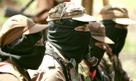 Zapatista Subcomandante Marcos EZLN
