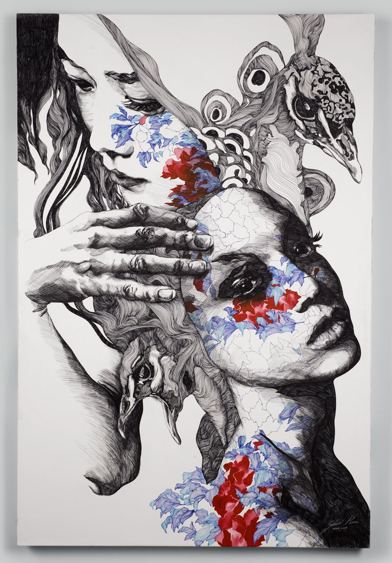 The illustrations of Gabriel Moreno – The Microscopic Giant