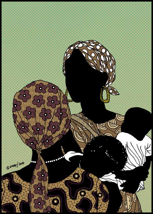 Illustration by Emory Douglas