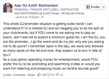 Ajax_DJs_vs_Promoters_FB_Status_Screen shot 2014-06-15 at 6.08.04 PM