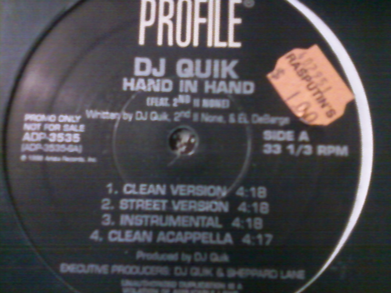 DJ Quick - Hand in Hand