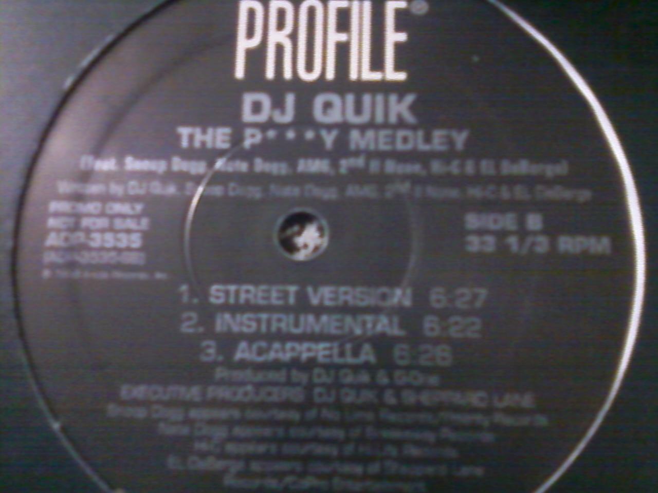 DJ Quick - Pussy Medley