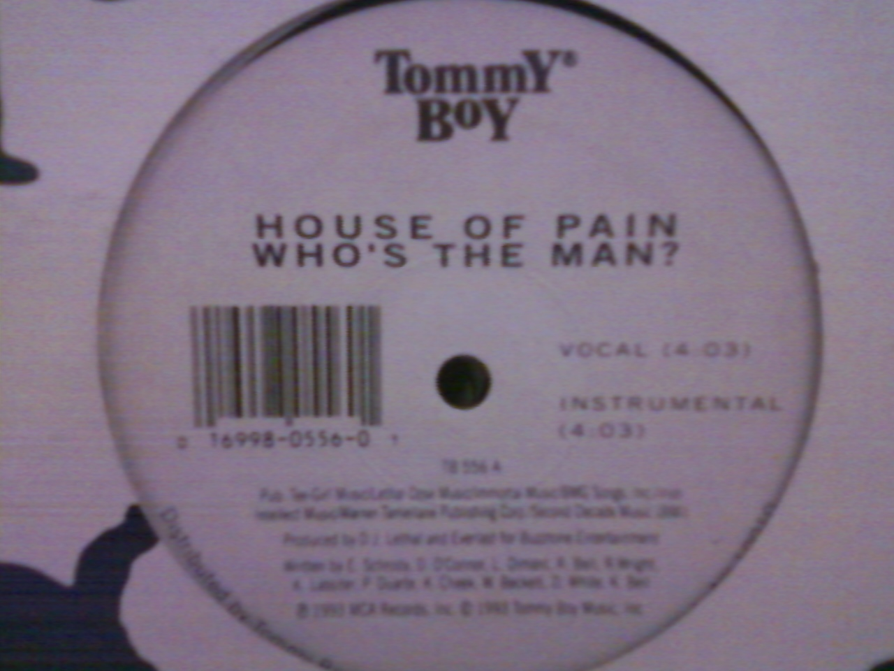 House of Pain - Who_s The Man