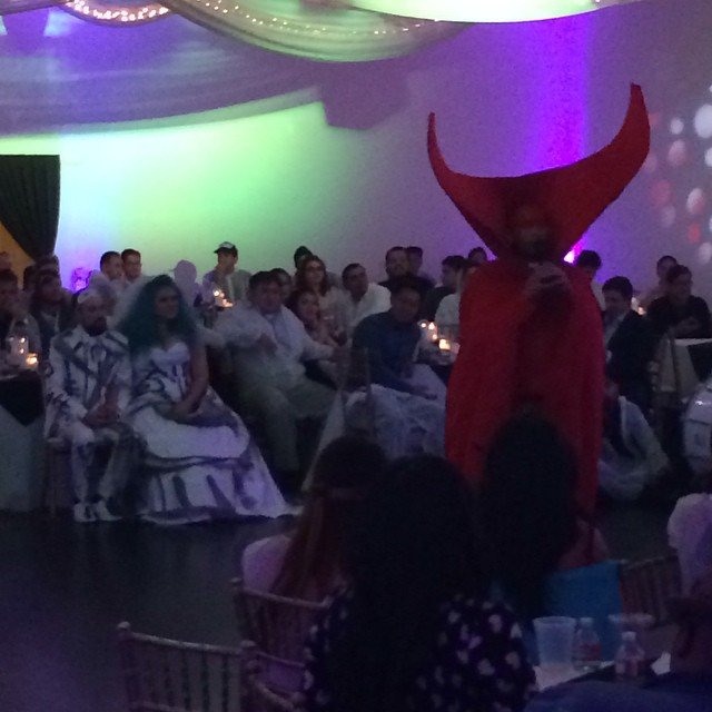 David_Choe_Korean_Spawn_Satan_Officiating_Wedding_Nov2nd2014